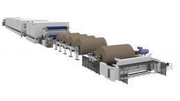 Valmet containerboard machine